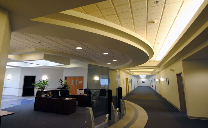 Drivers Village Corporate Office Lobby