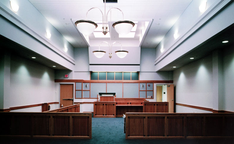 Madison County Courthouse Renovation Court Room