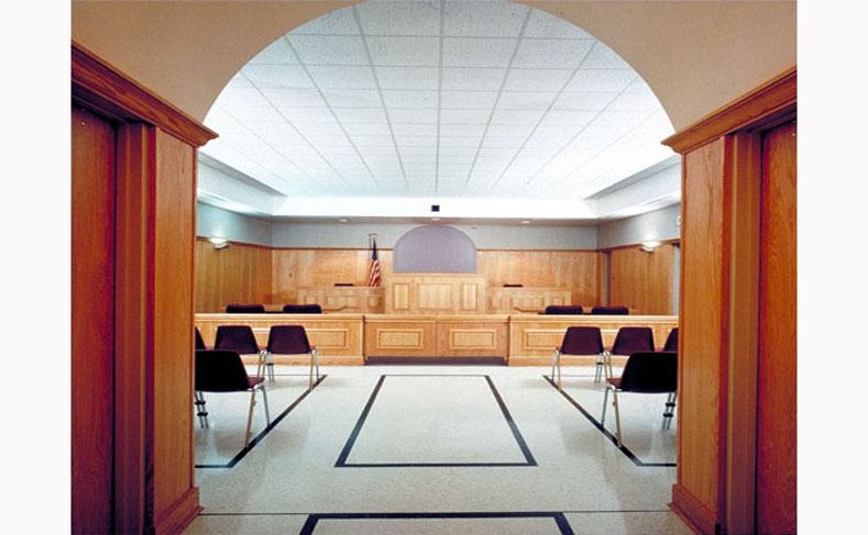 Metro Jefferson Public Safety Building Courtroom