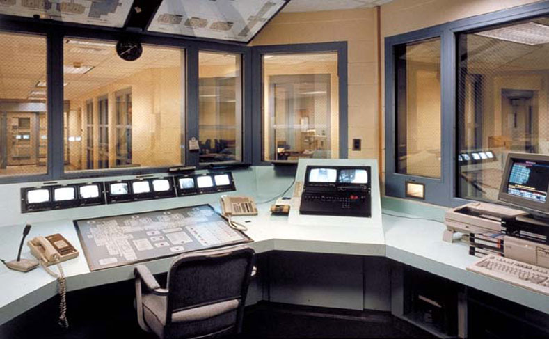 Metro Jefferson Public Safety Building Interior Control Room