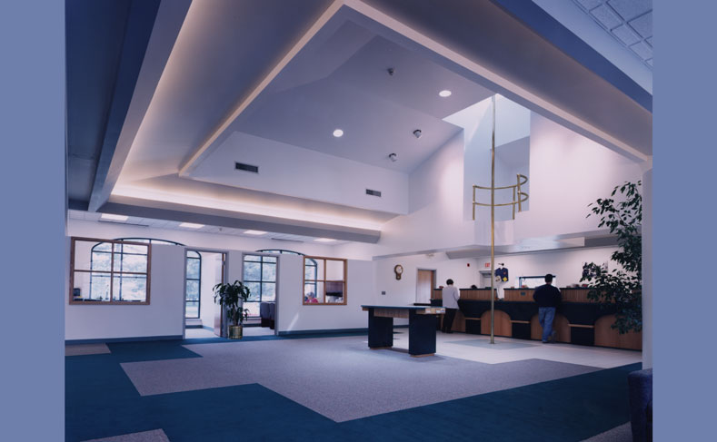 Syracuse Firefighters FCU Interior