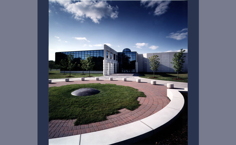 Syracuse University Manley Project Football Hall of Fame Exterior3