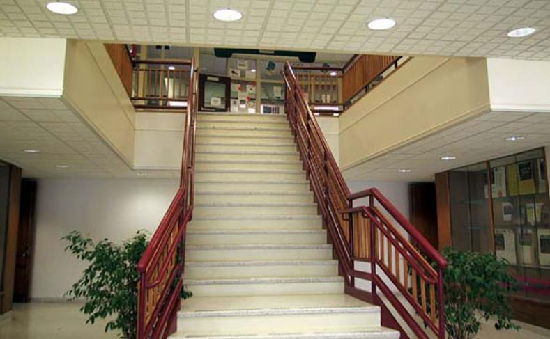 Camillus Middle School Interior Stairs