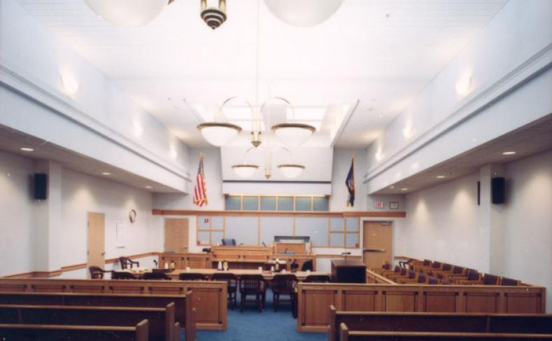 Herkimer County Office Building Courtroom