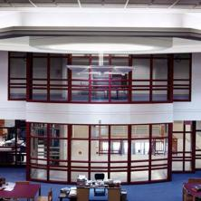 Camillus Middle School Interior Library